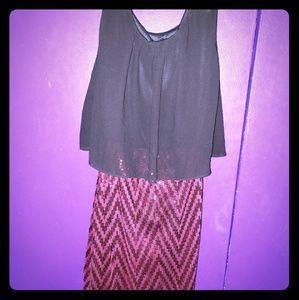 Rue21 Open Back Dress